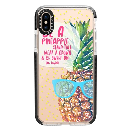iPhone XS Cases - Be A Pineapple 1