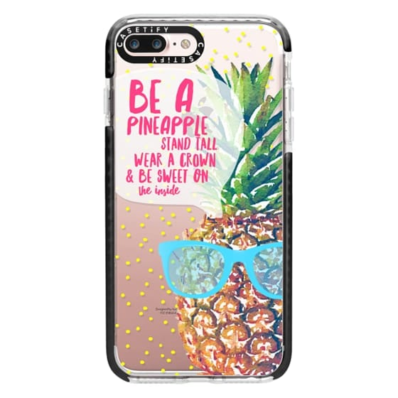 iPhone 7 Plus Cases - Be A Pineapple 1
