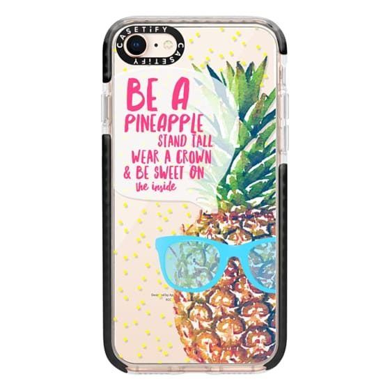 iPhone 8 Cases - Be A Pineapple 1