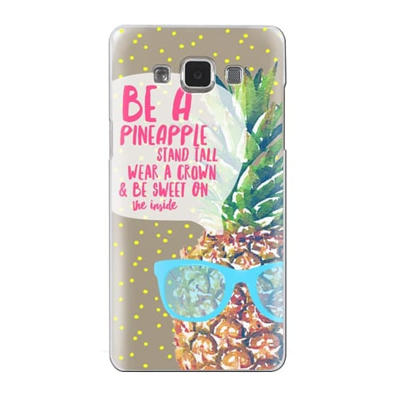Samsung Galaxy A5 Cases - Be A Pineapple 1
