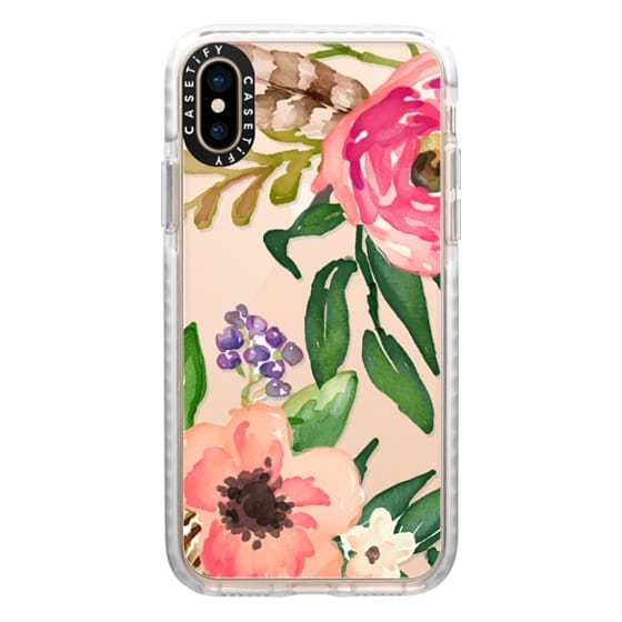 iPhone XS Cases - Watercolor Floral 11