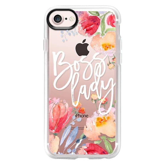 iPhone 7 Cases - Boss Lady Watercolor Floral