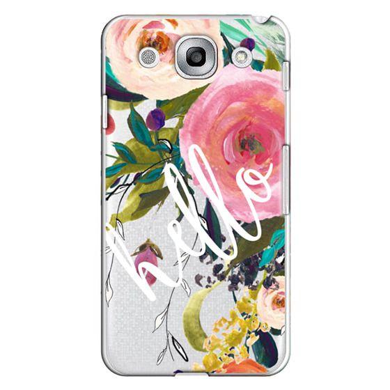 Optimus G Pro Cases - Hello Watercolor Floral
