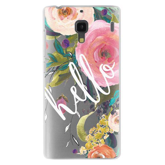 Redmi 1s Cases - Hello Watercolor Floral