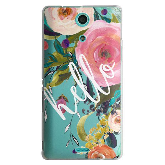 Sony Zr Cases - Hello Watercolor Floral