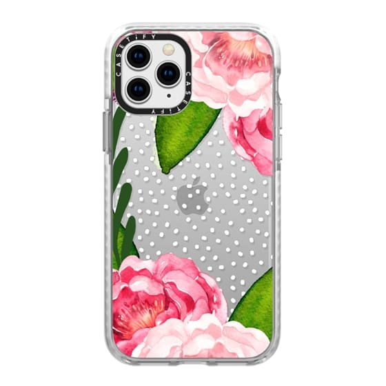 iPhone 11 Pro Cases - Floral and Confetti Dots