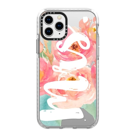 iPhone 11 Pro Cases - MRS Watercolor Floral
