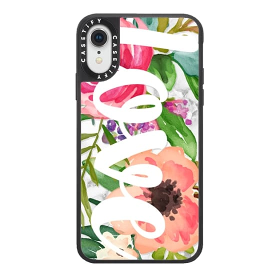 LOVE Watercolor Floral