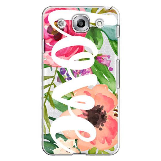 Optimus G Pro Cases - LOVE Watercolor Floral