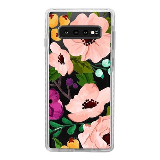 Samsung Galaxy S10 Cases - Fancy Floral 3
