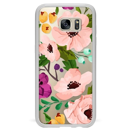 Samsung Galaxy S7 Edge Cases - Fancy Floral 3
