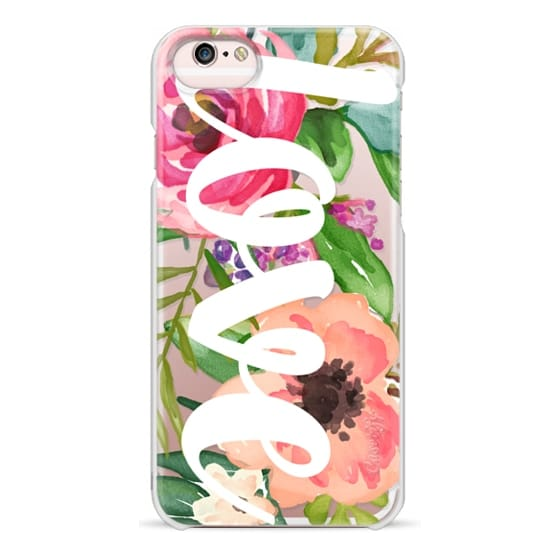 iPhone 6s Cases - LOVE Watercolor Floral