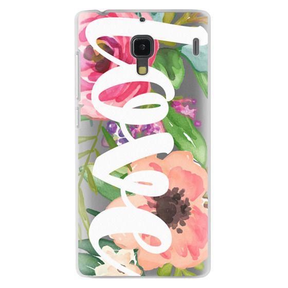 Redmi 1s Cases - LOVE Watercolor Floral