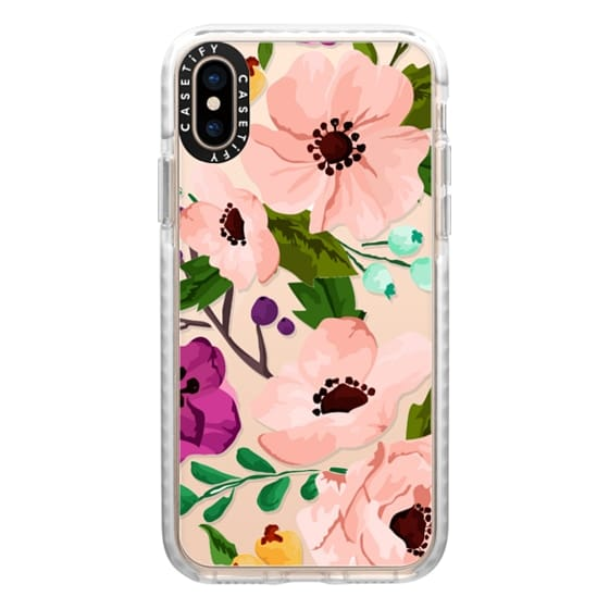 iPhone XS Cases - Fancy Floral 3