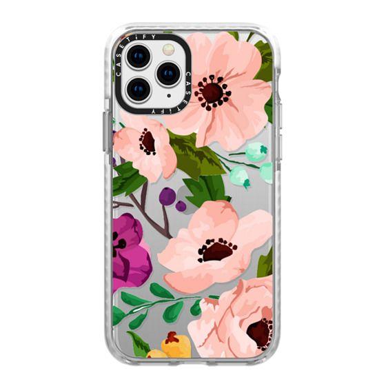 iPhone 11 Pro Cases - Fancy Floral 3