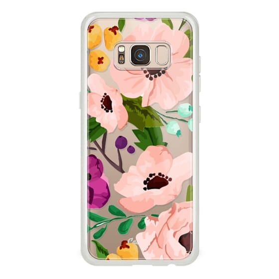 Samsung Galaxy S8 Cases - Fancy Floral 3