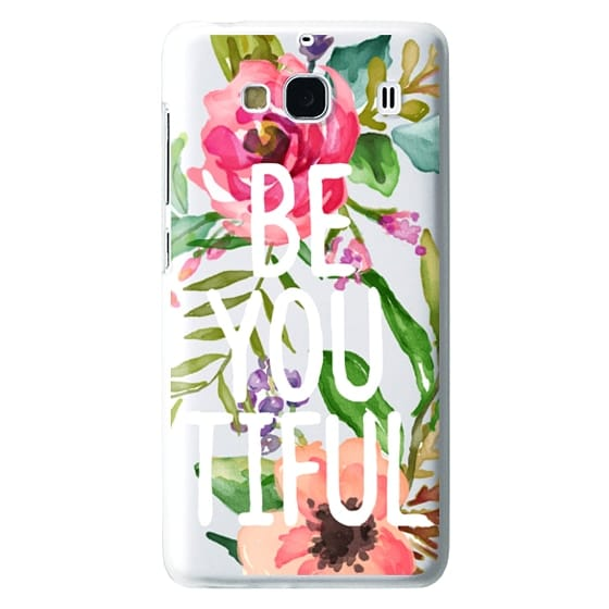 Redmi 2 Cases - Be YOU Tiful Watercolor Floral