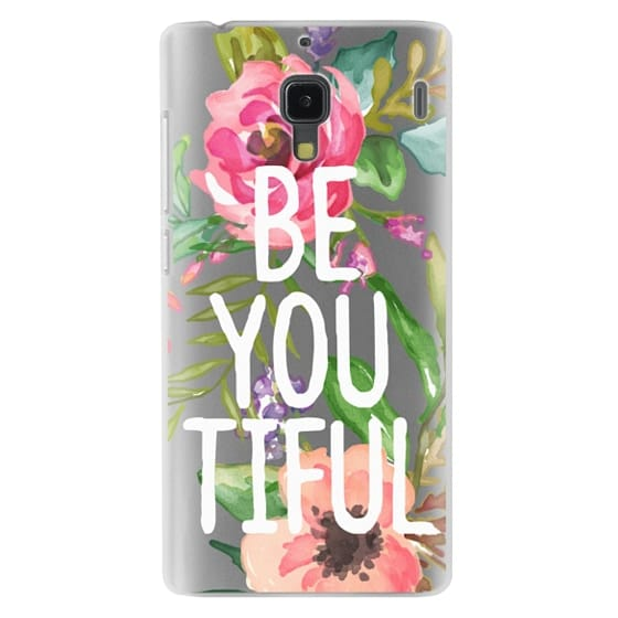 Redmi 1s Cases - Be YOU Tiful Watercolor Floral