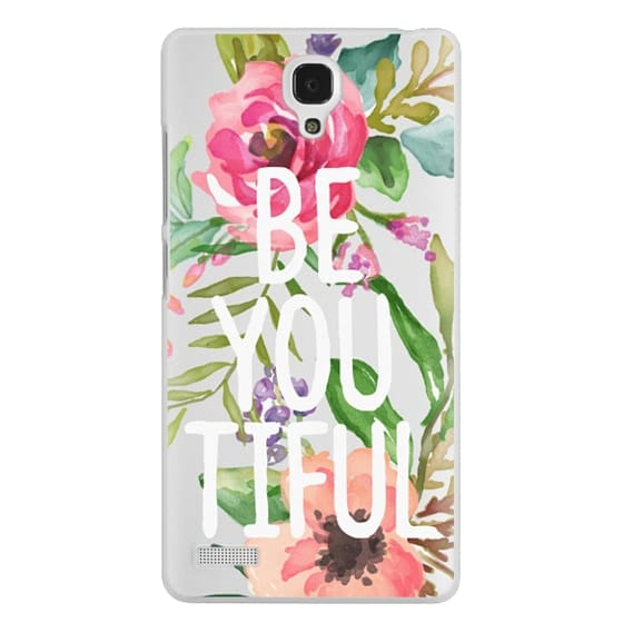 Redmi Note Cases - Be YOU Tiful Watercolor Floral