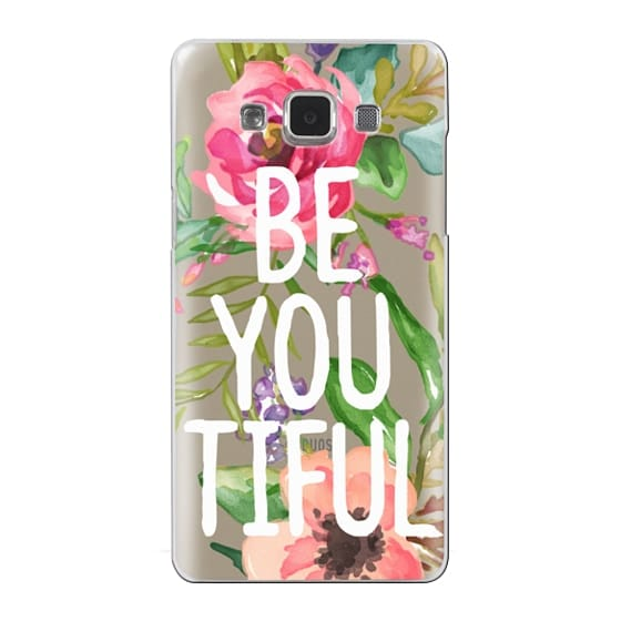Samsung Galaxy A5 Cases - Be YOU Tiful Watercolor Floral