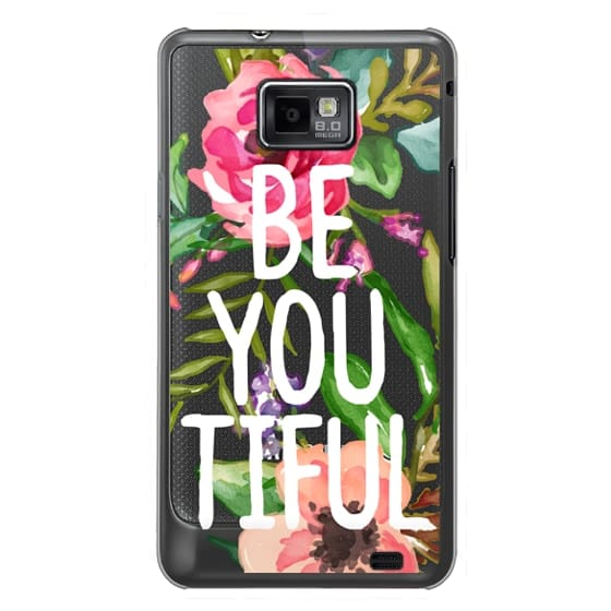 Samsung Galaxy S2 Cases - Be YOU Tiful Watercolor Floral