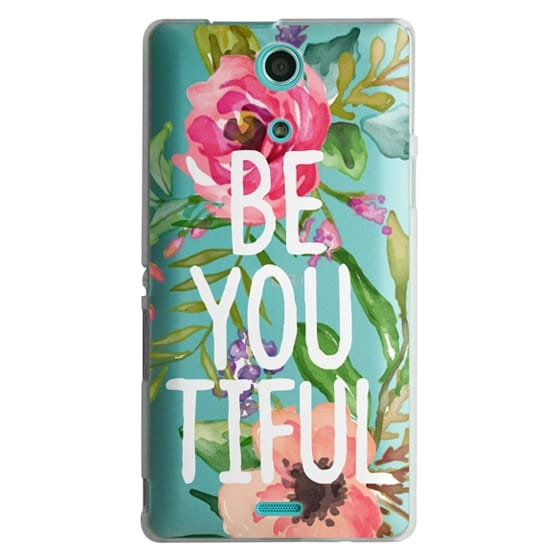 Sony Zr Cases - Be YOU Tiful Watercolor Floral