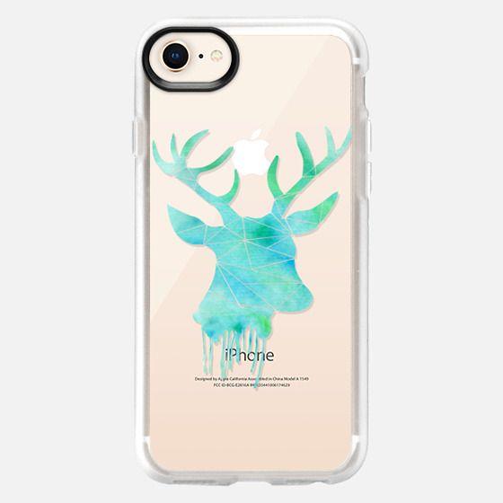 Deer - Watercolor - Snap Case