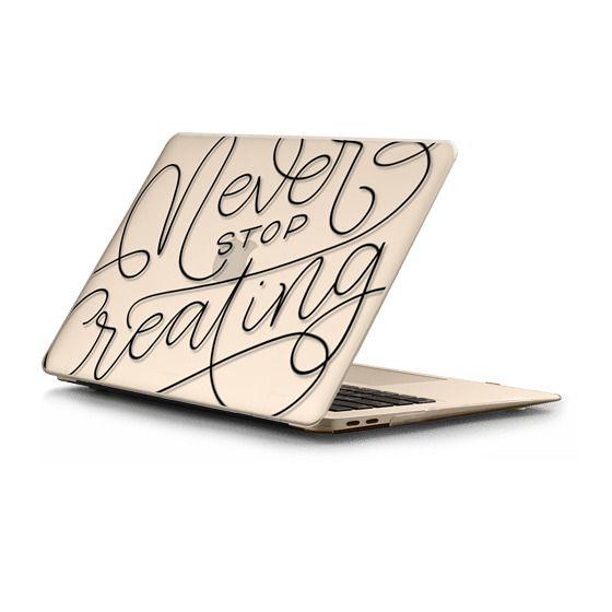 MacBook Air Retina 13 Sleeves - Never stop creating - monoline