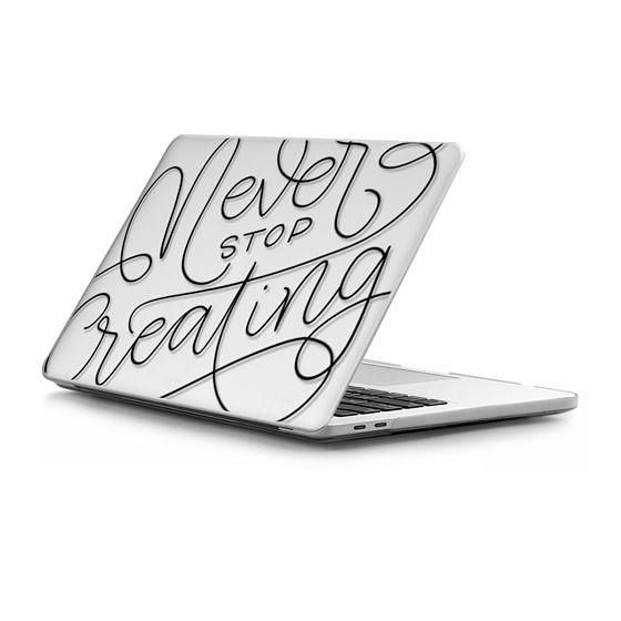 MacBook Pro Touchbar 13 Sleeves - Never stop creating - monoline