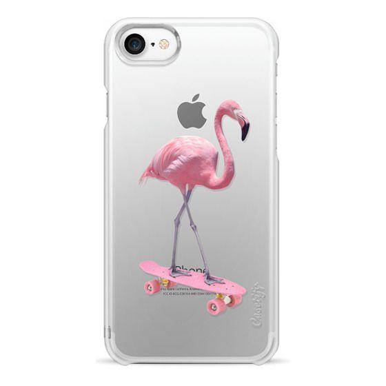 iPhone 6s Cases - skate flamingo
