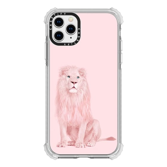 iPhone 11 Pro Max Cases - pink lion