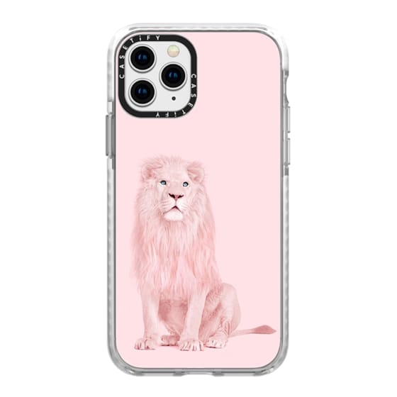 iPhone 11 Pro Cases - pink lion