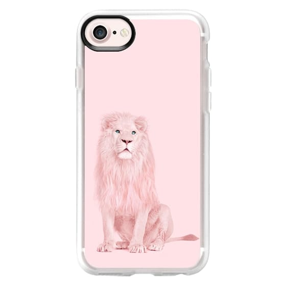 iPhone 7 Cases - pink lion