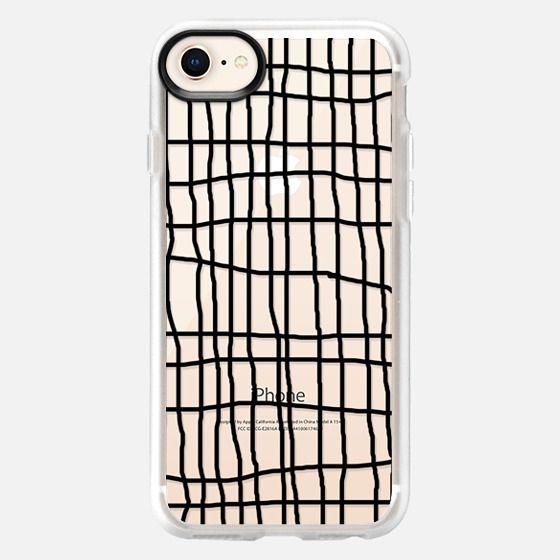 Handdrawn Grid Lines - Snap Case
