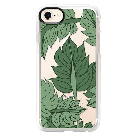 iPhone 7 Plus Cases - Foliage Green