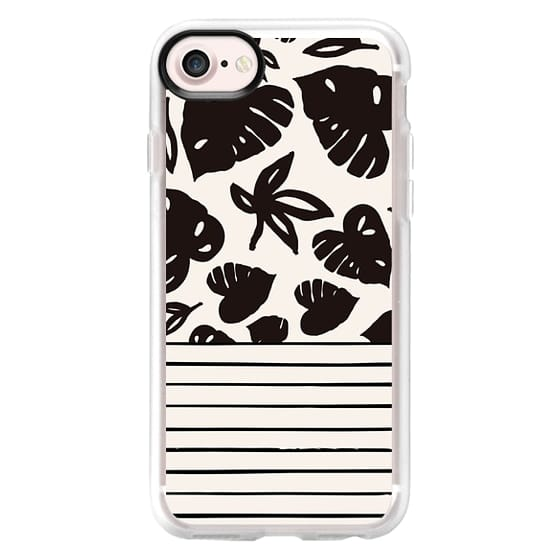 iPhone 6s Cases - monstera stripes