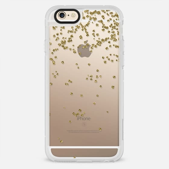 GOLD CONFETTI SQUARE NEW YEARS - New Standard Case