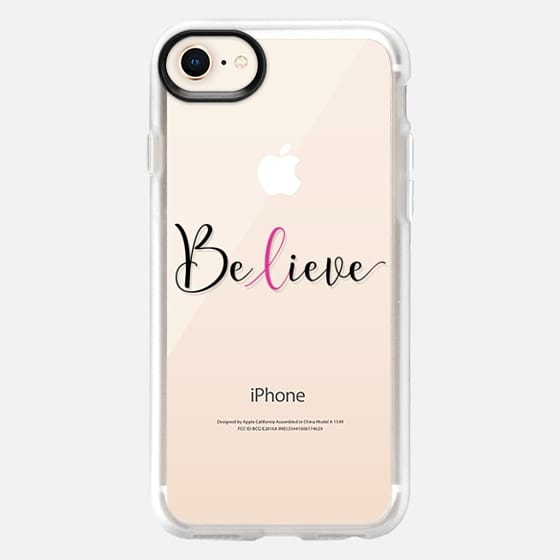 Believe - Breast Cancer Awareness Month - Snap Case