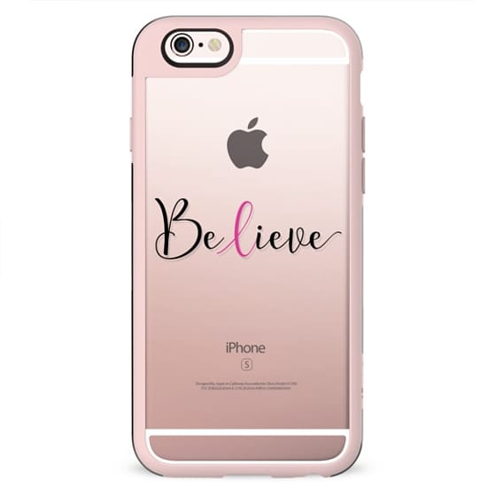 Believe - Breast Cancer Awareness Month