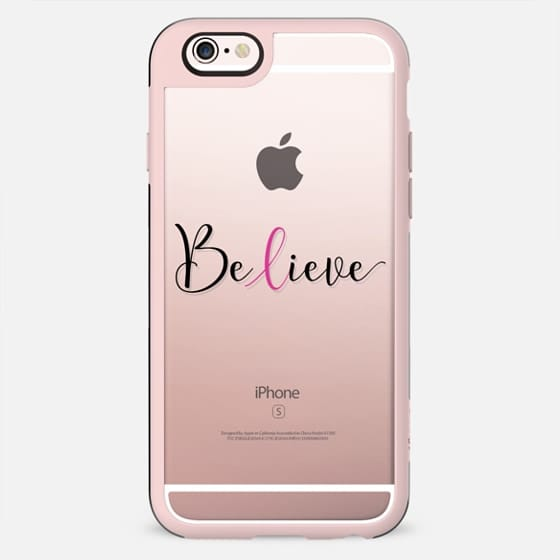 Believe - Breast Cancer Awareness Month - New Standard Case
