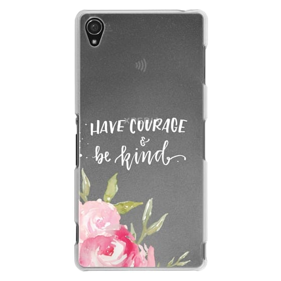 Sony Z3 Cases - Have Courage & Be Kind