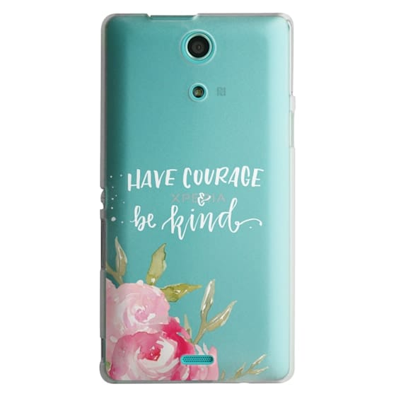Sony Zr Cases - Have Courage & Be Kind