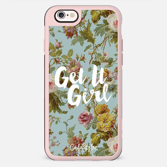 Get It Girl Floral - New Standard Case
