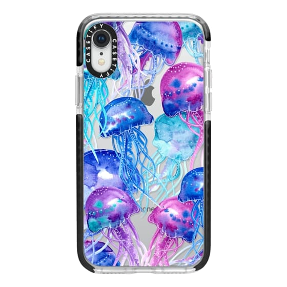iPhone XR Cases - Watercolor Jellyfish