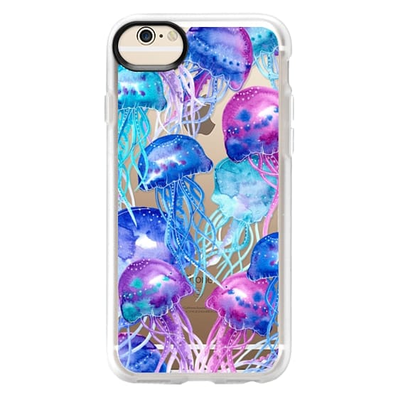 iPhone 6 Cases - Watercolor Jellyfish