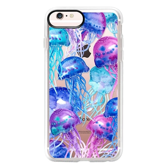 iPhone 6s Plus Cases - Watercolor Jellyfish