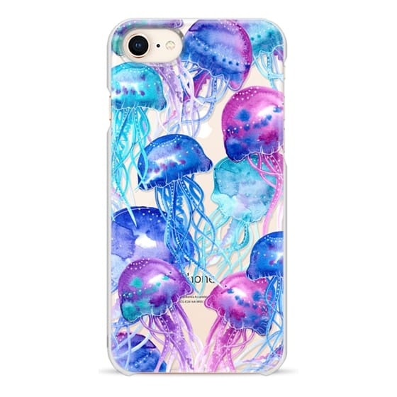 iPhone 8 Cases - Watercolor Jellyfish