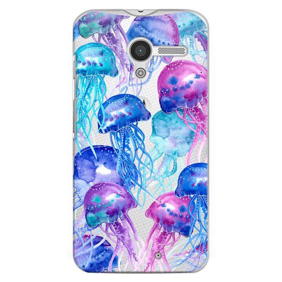 Moto X Cases - Watercolor Jellyfish