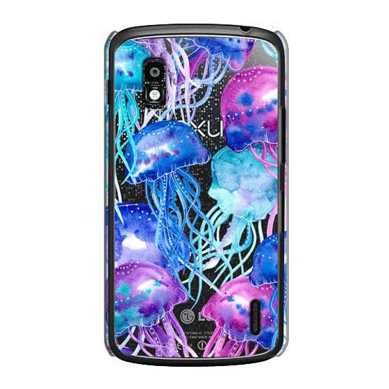 Nexus 4 Cases - Watercolor Jellyfish