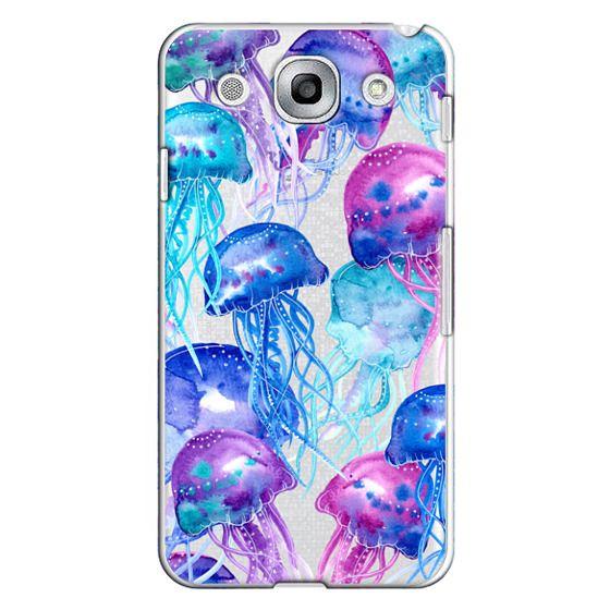 Optimus G Pro Cases - Watercolor Jellyfish